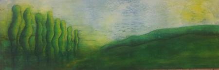 Landschaft grün